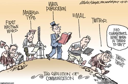 evolucion de la comunicacion